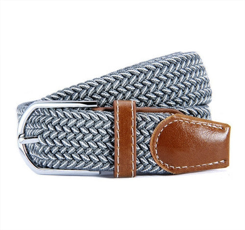 Metal Buckle Canvas Woven Belt - Bonus Offer