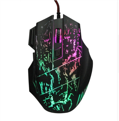 5500DPI LED Optical USB Wired Gaming Mice