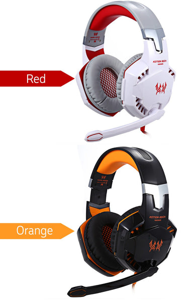Wired LED Gaming Headset