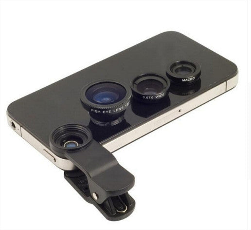 3 In 1 Mobile Phone Clip Lenses