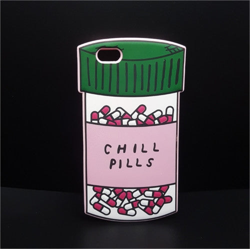 3D Love Potion/Chill Pills Bottle iPhone Case Free + Shipping
