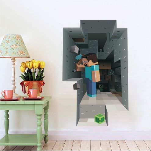DIY 3D Cartoon Wall Sticker Free + Shipping