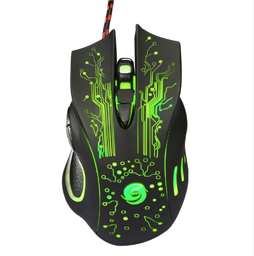 3200DPI LED Optical USB Wired Gaming Mice Free + Shipping