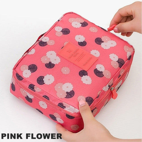 Waterproof Canvas Cosmetic/Travel/Storage Bag