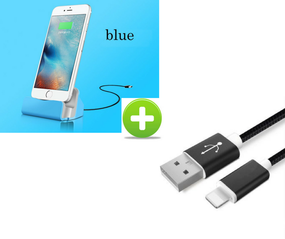iPhone Charging Dock + Cable Bundle Free + Shipping