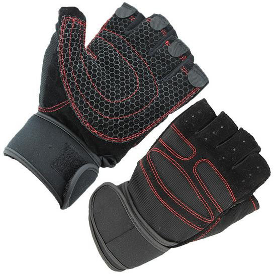 Half-Finger Breathable Weightlifting Gloves