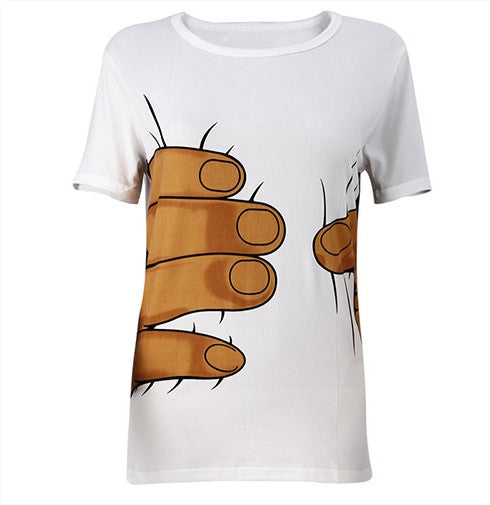 Giant Hand Short Sleeve T-Shirt