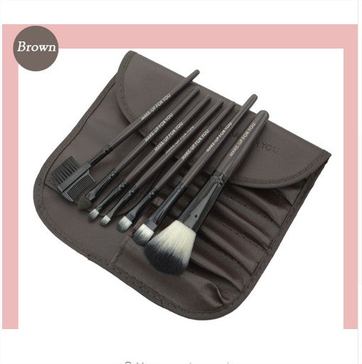 Professional Make-up Brushes Set (7 pcs)