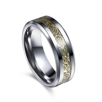 Dragon Tungsten Steel Ring