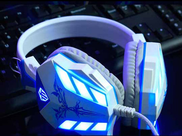 Wired Noise Cancelling LED Gaming Headset