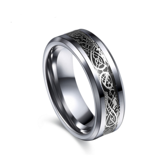 Dragon Tungsten Steel Ring Free + Shipping