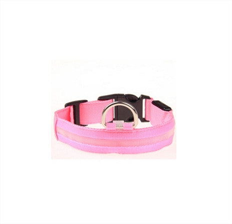 LED Glowing Dog Collar Free + Shipping