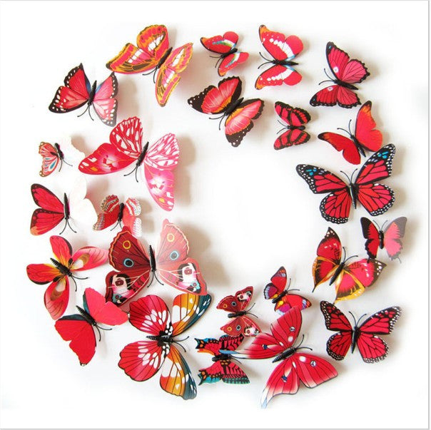 DIY Magnet Butterfly Wall Stickers Offer