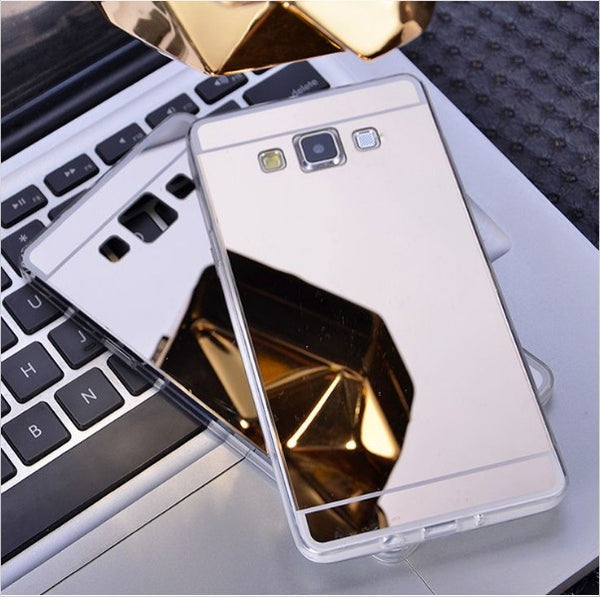 Back Cover Mirror Samsung Galaxy Case Free + Shipping