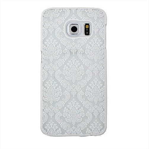 Damask Vintage Flower Pattern Samsung Galaxy Case