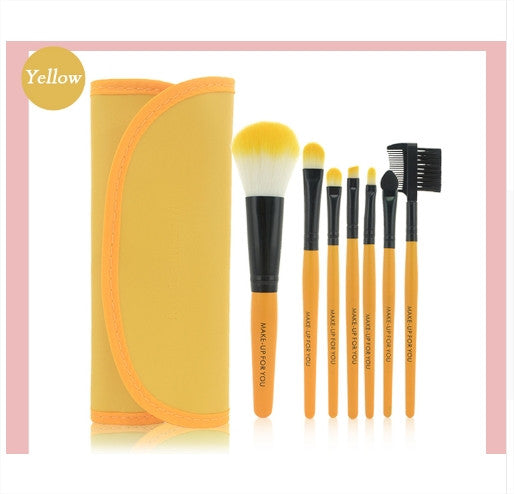 Professional Make-up Brushes Set (7 pcs) - Bonus Offer