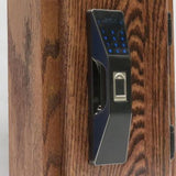 RFID Cabinet Lock  KR-S80E RFID Fingerprint , Card and Code. - Gage Safe Products