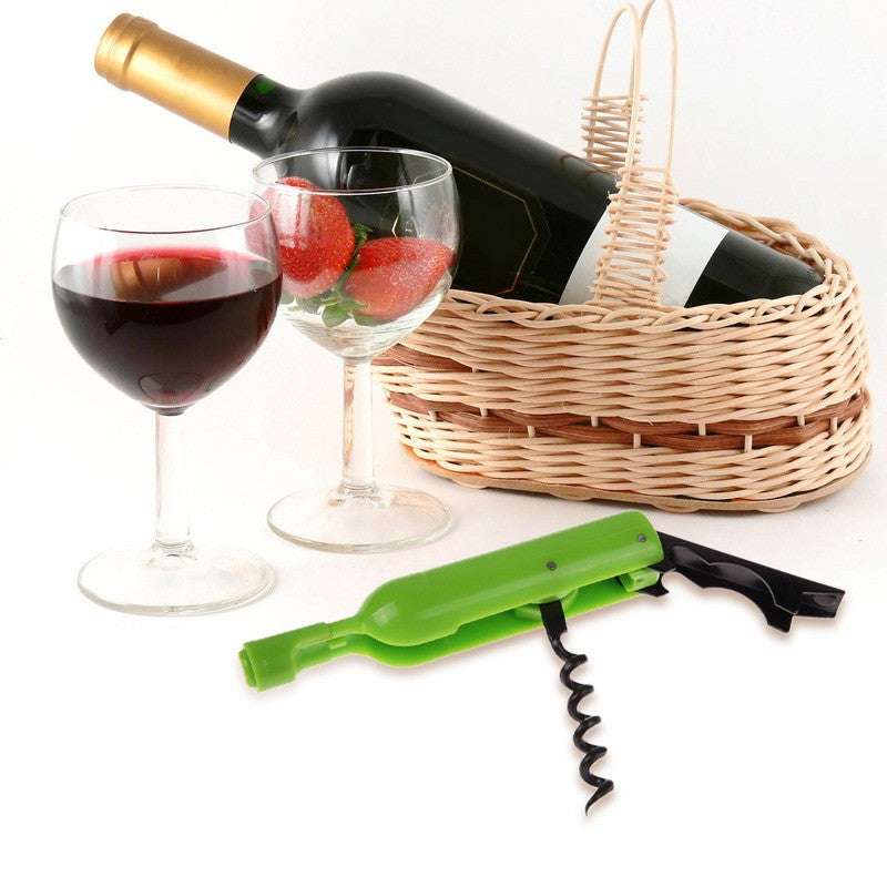 Wine Bottle Shaped Wine and Bottle Opener FREE plus Shipping & Handling