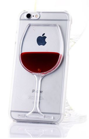 Wineglass iPhone Cases FREE plus Shipping & Handling (LIMIT 3 PER ORDER)