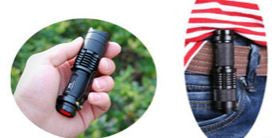 Waterproof LED Mine Flashlight