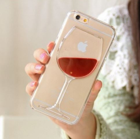 Wineglass iPhone cases