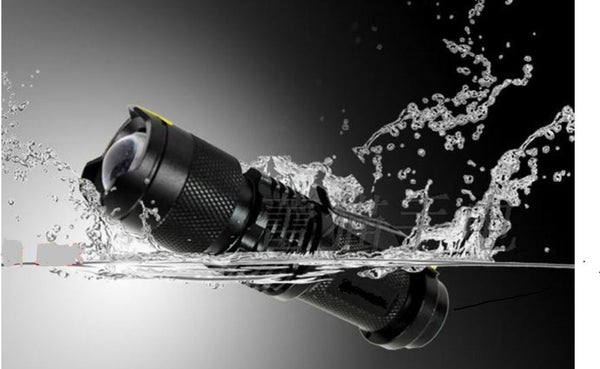 Waterproof LED Mini Flashlight FREE plus Shipping & Handling