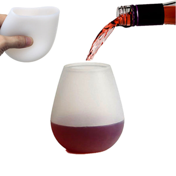 Silicone Wine or Beer Glass FREE plus Shipping & Handling