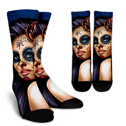 Tattoo Girl Socks