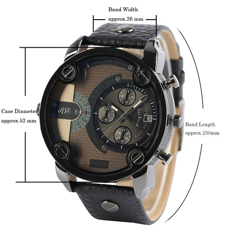 Only The Brave Military Style Quartz Wristwatch