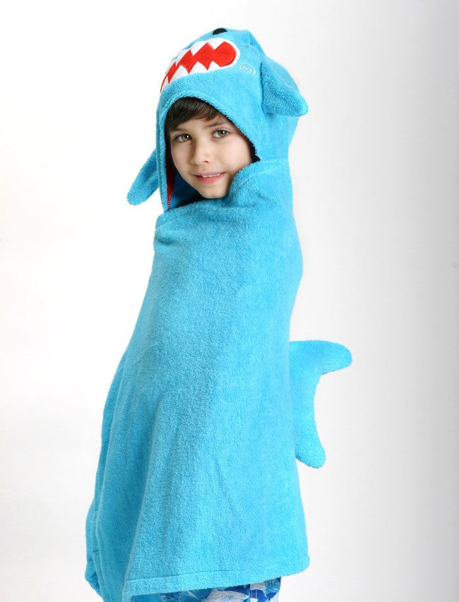Zoocchini / Childrens Hooded Towels / Shark