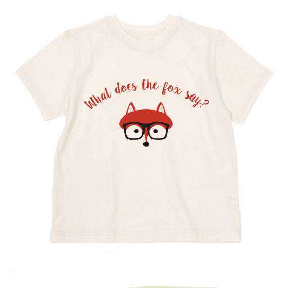T Shirts & Onesies by GGG /  Fox  on Natural T Shirt