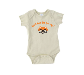 T Shirts & Onesies by GGG /  Fox  on Natural