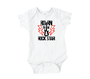T Shirts & Onesies by GGG / Rock Star