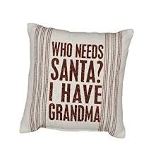 Pillow by Nancy / Who needs Santa