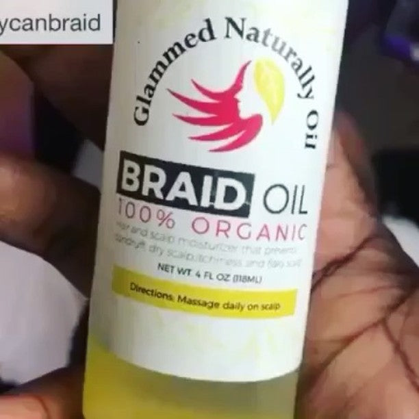 Glammed Naturally Braid Oil