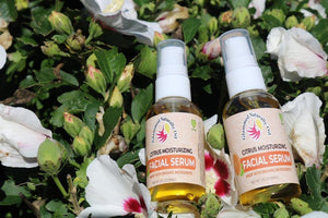 Glammed Naturally Citrus  Moisturizing Facial Serum