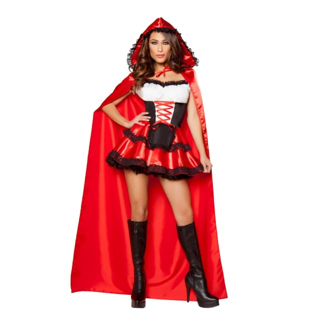 Sexy Little Red Ridding Costume Set