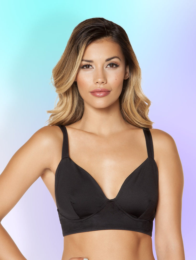 Women's Black Bra Top