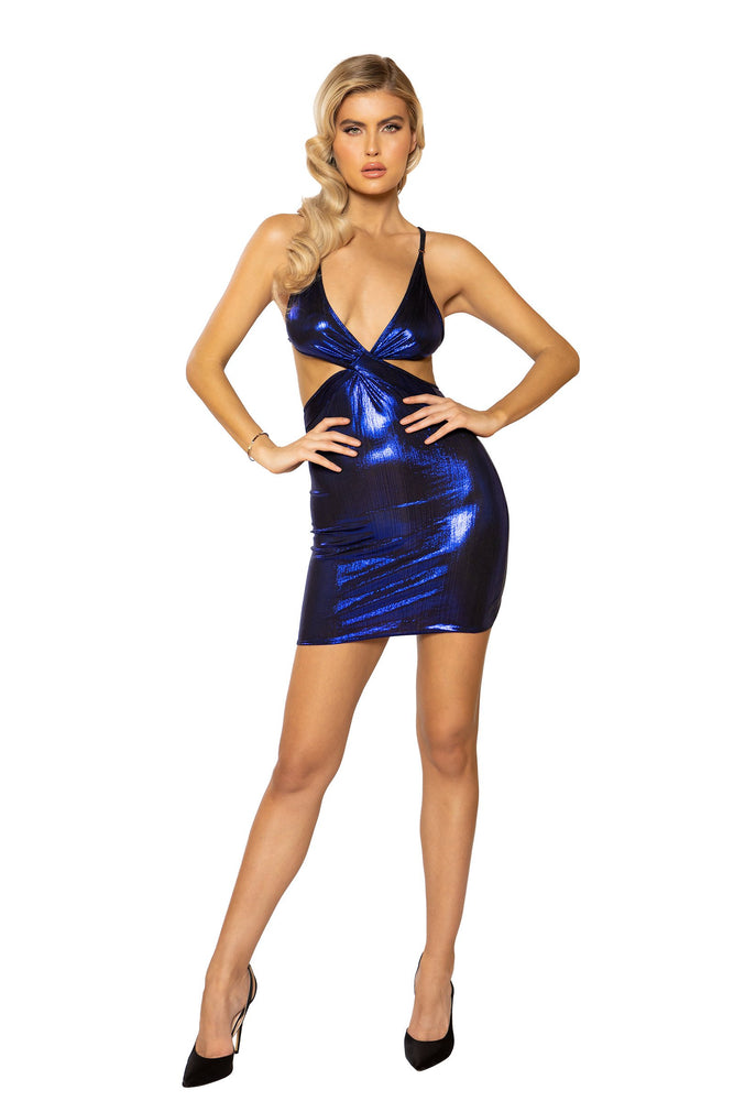 Women's Criss-Cross Shimmer Dress