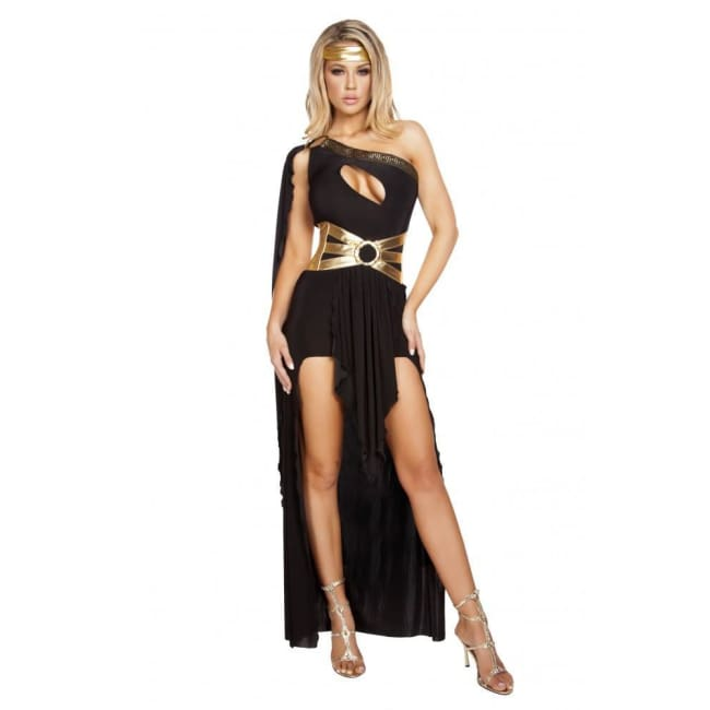 3pc Daughter of Zeus Costume Set - Black / S/M - Costume