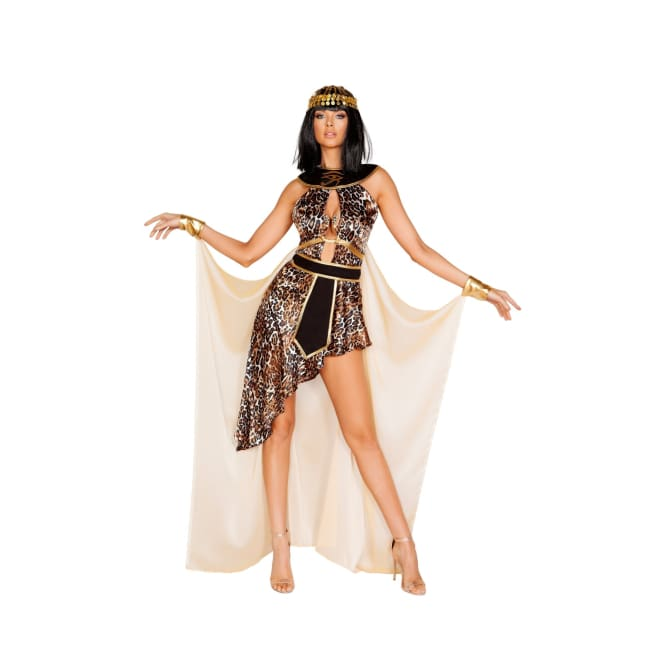 3pc Exotic Cleopatra Costume Set - Small / Multi Brown - Costumes