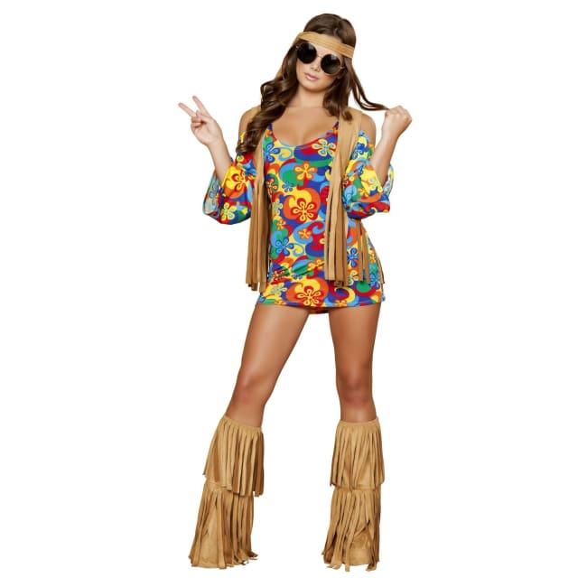 Women's 1960's Hippie Costume Set sexy clothing online morgan le faye llc