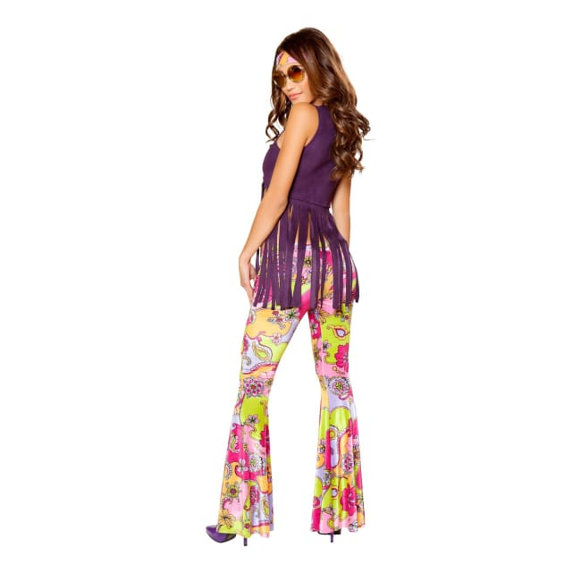 3pc Hippie Lover Costume Set - Costumes