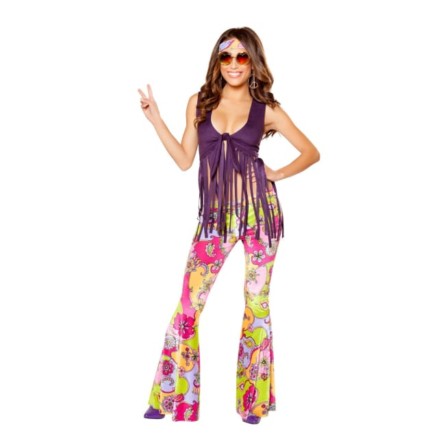 Women's 1960's Hippie Lover Costume Set sexy clothing online morgan le faye llc