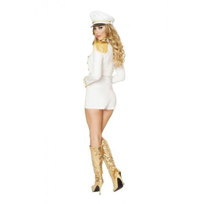 3pc Sultry Sailor Babe Costume - Costumes