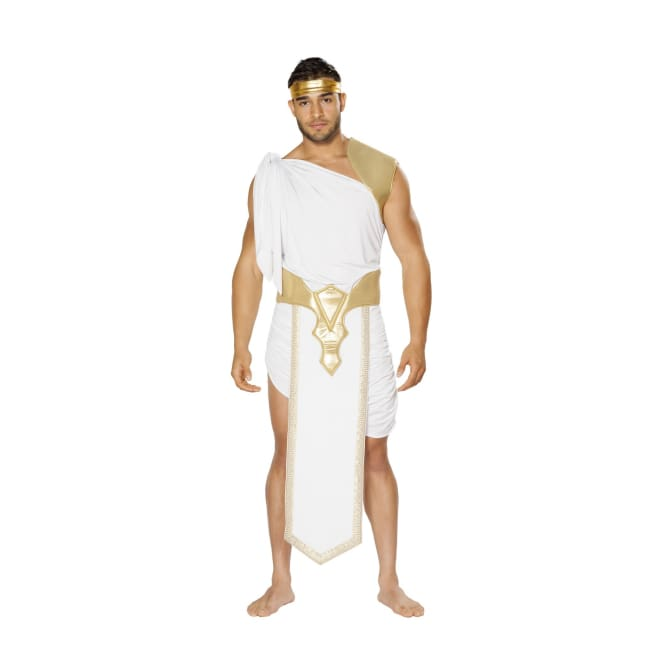 3pc Zuess Costume Set - L/XL / White/Gold - Costumes mens