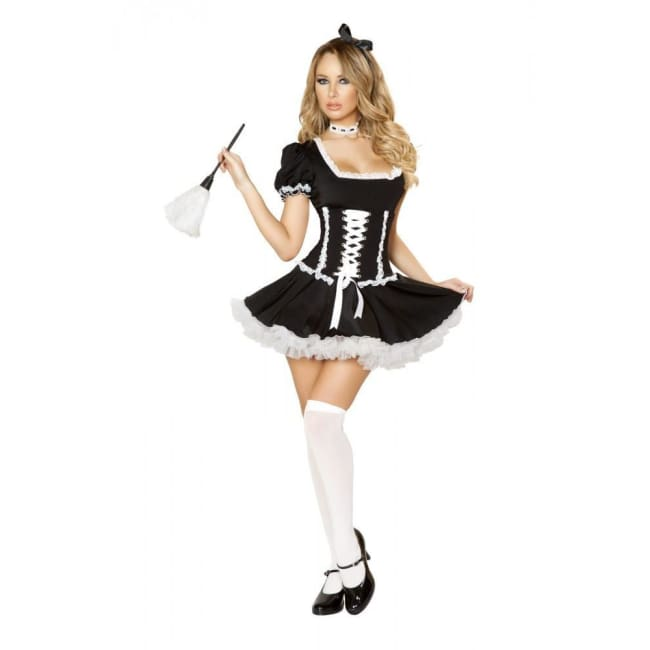 4pc Mischievous Maid Costume