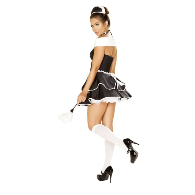 4pc Sexy Chamber Maid Costume Set - Costumes