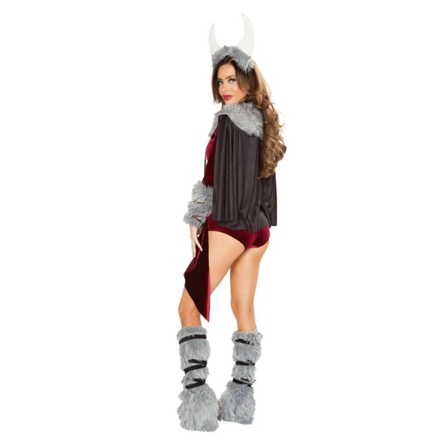 4pc Viking Princess Costume Set - Costume