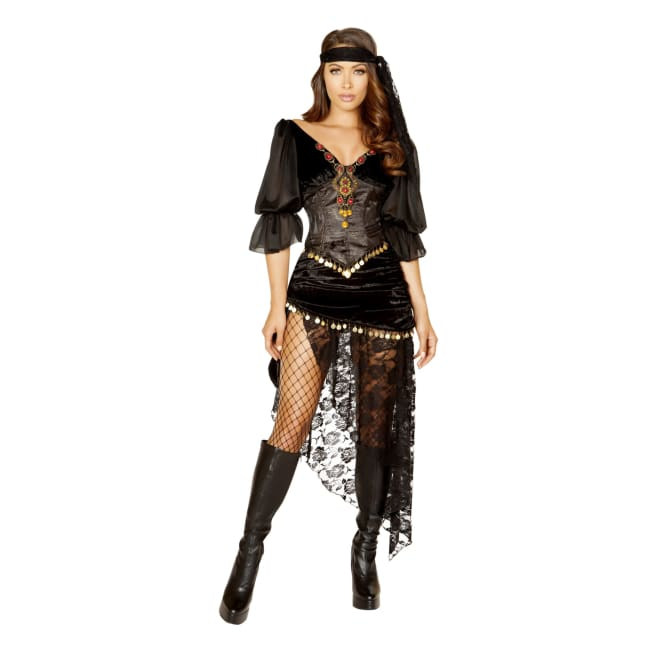 Women's Gypsy Maiden Costume Set
